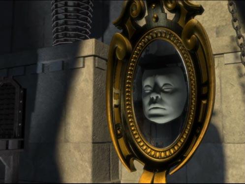 Le miroir magique !