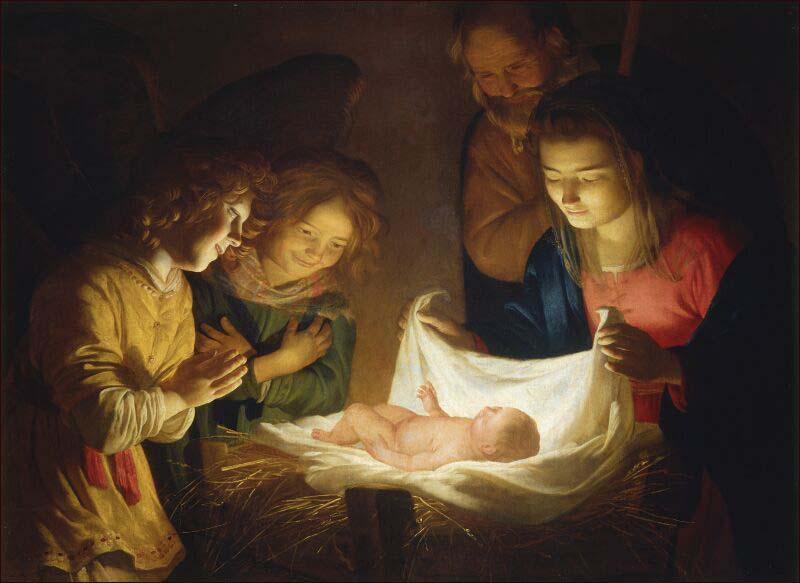il est né
